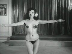 Sensitive Dance of one Cute Minx 1950