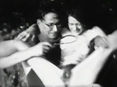 Hairy Pussy Spanked on Beach in Front of Others 1930