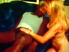 Young Blonde and Big Black Cock of Old Man 1960 tube porn video
