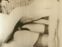Young Lovers Engage in a Threesome 1950 porn tube video