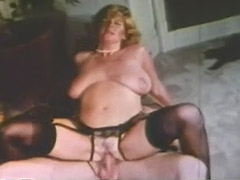 Busty Blonde Fucks Husband's Brother 1970 tube porn video
