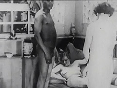 Black Driver Fucks two Ladies in Threesome 1930 tube porn video