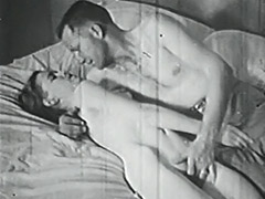 Sexy Couple Teasing and Fucking 1950