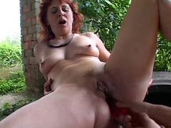 SEXY MOM n78 redhead mature anal porn tube video