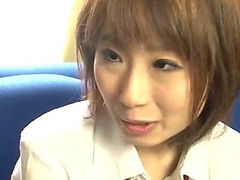Yui Misaki in her school uniform bent and fucked tube porn video