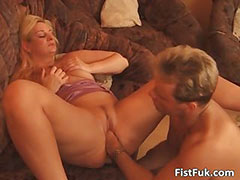 Blonde chubby lsut getting fucked hardly
