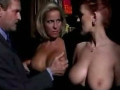 Horny italian milfs in hot threesome porn tube video