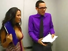 Jessica Bangkok Is An Elevator Quickie porn tube video