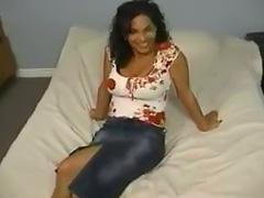 Busty Latina slut fucked and cumed