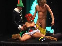 Threesome Fantasy Comes To Life