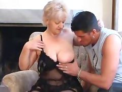 SEXY MOM n88 blonde bbw mature with a young man tube porn video