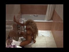 Bath, Adorable, Bath, Bathroom, Blonde, Cute