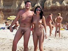 Amateur video nudist beach I shot this mature nudist couple at the nudist beach
