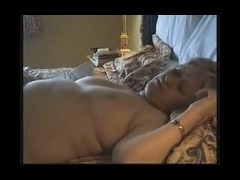 Hard penis deep in throat Bestial chubby mature was awaken by her partner climbing on her and stuffi