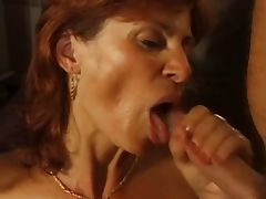 Redhead MILF double penetration