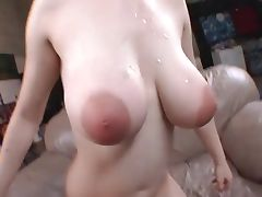 Awesome tits and great facial tube porn video