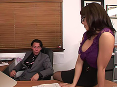 Chanel secretarys day tube porn video