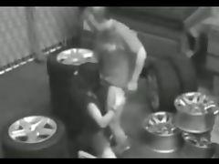 Garage Security Cam Hidden cam Fuck tube porn video