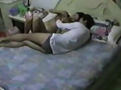 Chinese couple in hotel tube porn video