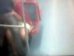 Sexo en vagon Linea 4 A Metro de Santiago Chile tube porn video