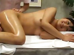 Massage, Blowjob, Cum, Hidden, Housewife, Massage