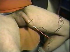 Intense electro cum tube porn video