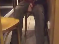 Fast Food Piss tube porn video