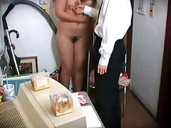 Japanese, Asian, Blowjob, Caught, Cum, Cumshot