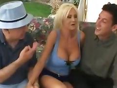 Lori Pleasure is a big boobed vixen who has a com