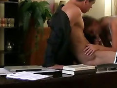 Amateur Brunette Fucked On Hidden Camera In An Office