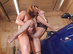 Horny bitch Roxy Jezel banging hard cock