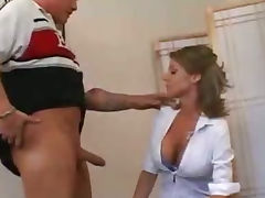 Busty milf gets her tight pussy pounded