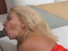 Grannie Trys Interracial and Gets Bred tube porn video