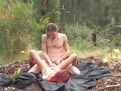 Amateur outdoor hardcore