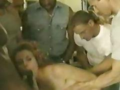 Tyra Olsen gets gangbanged