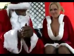Katie Kox Black Santa and His Hoe Hoe Hoe