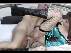 old GREY dad LICK rim FUCK tv CROSSDRESSER lingerie SLUT tube porn video
