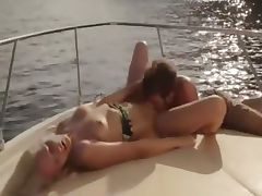 delicate art sex on the yacht
