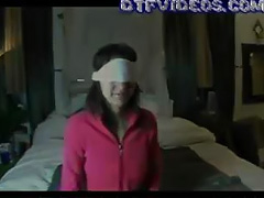 Old, Amateur, Blindfolded, College, Old, Teen