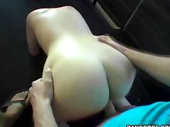 Big tits Cecily punk enjoying some hot car sex here