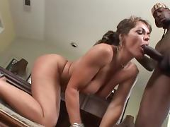 Dick Hungry Milf Has Her First Big Black Cock