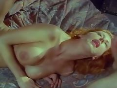 Lusty Jenny Blair gives a hot blowjob before riding some cocks tube porn video