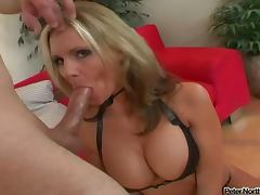 Horny Blonde Phoenix Marie Sucks a Dick Like a Whore
