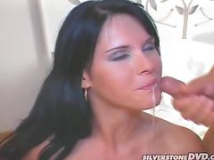 Sexy Jennifer Dark gets fucked hard in both holes tube porn video