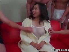 Mother, Banging, Bitch, Cougar, Gangbang, Group