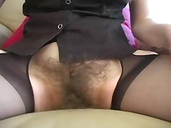 unbelievable hairy girl