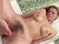 Hairy pussy beauty dildo sex scene