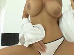 Lisa Ann anal creampie