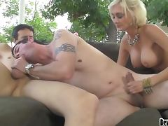 Bisex Three Way With 2 Guys and 1 Chick