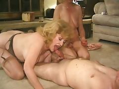 Kitty Foxx fucked in a foursome